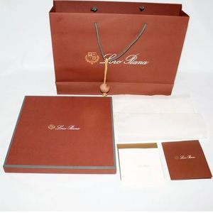 Loro Piana Empty Box Gift Set